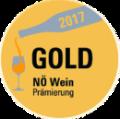 Gold NÖ Weinprämierung 2017